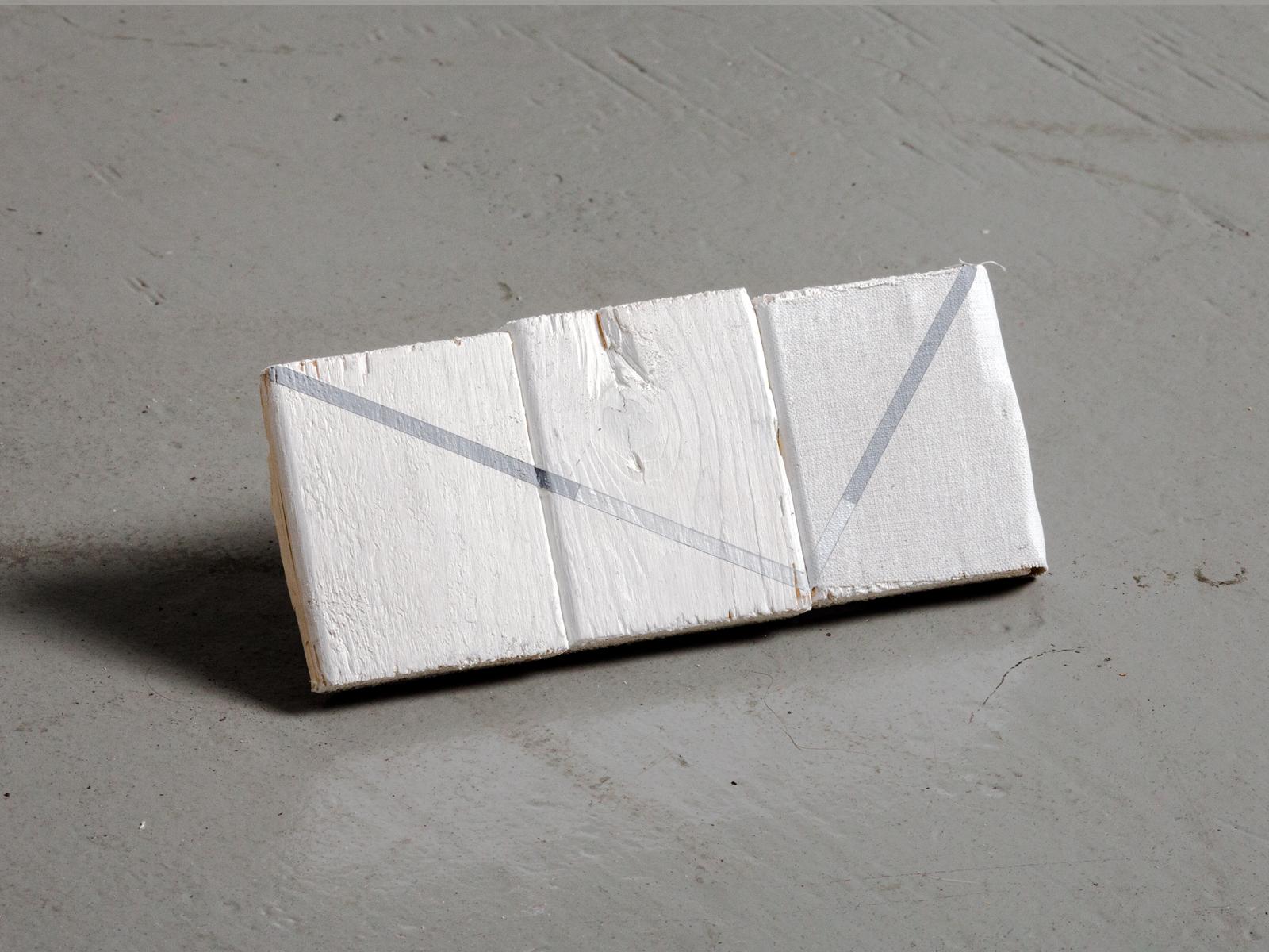 E6  Acrylic and canvas on wood