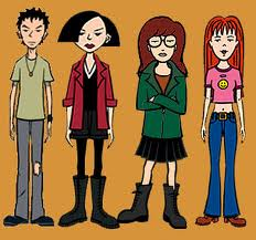 daria. your hipster girlfriends favorite show