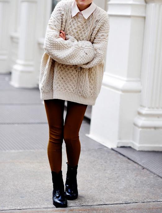 old man sweater