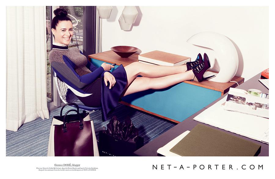 Garance Doré for Net-a-porter.  ( Image )