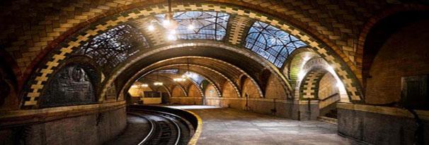 (Hidden NYC Subway.  image )