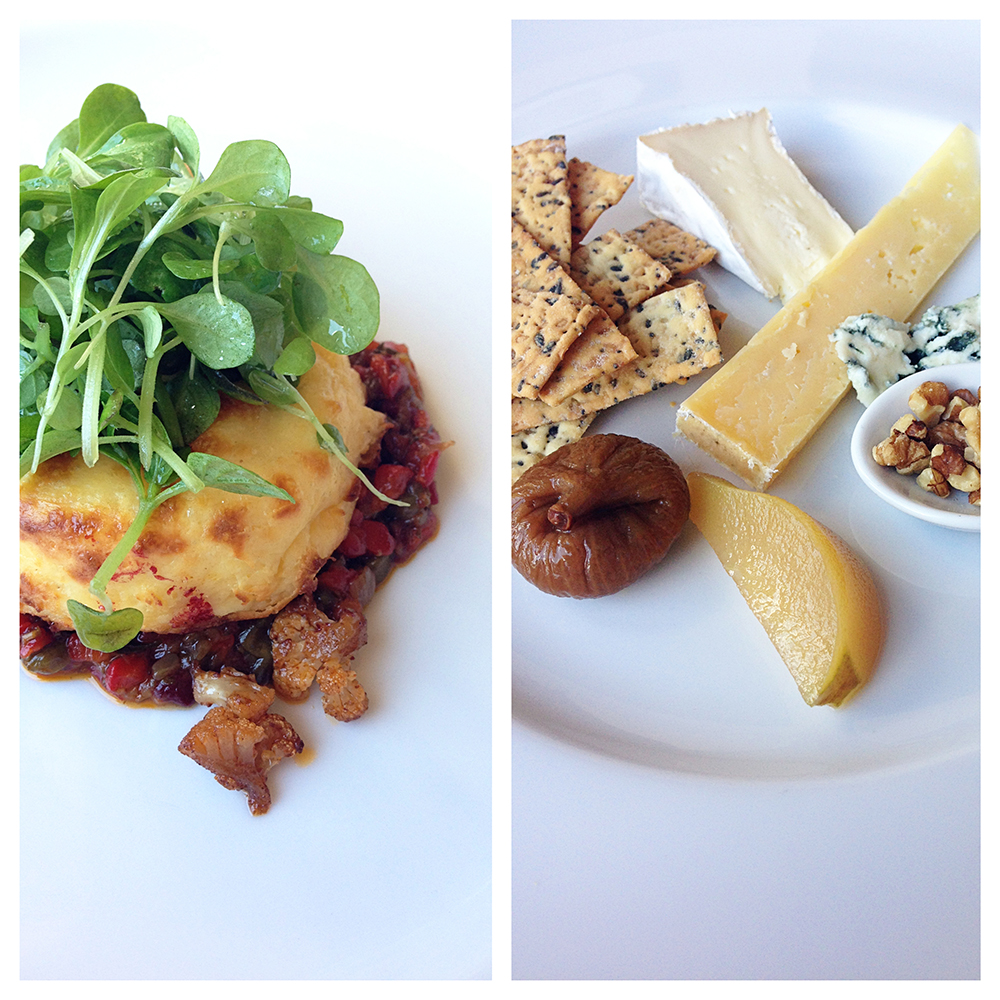 Souffle and cheese platter...details towards end of post