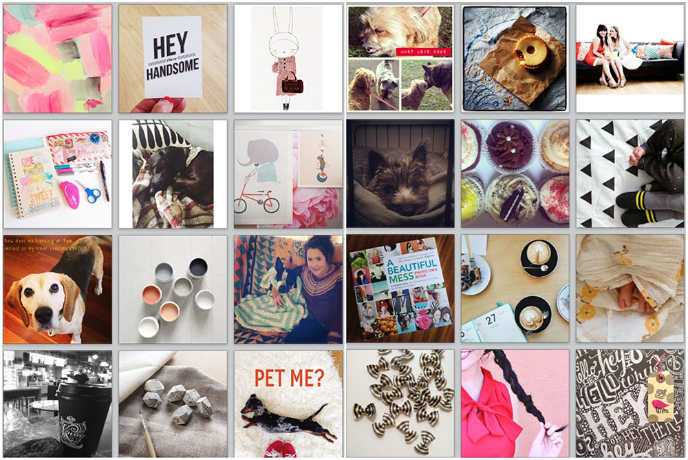Recent Instagram likes...