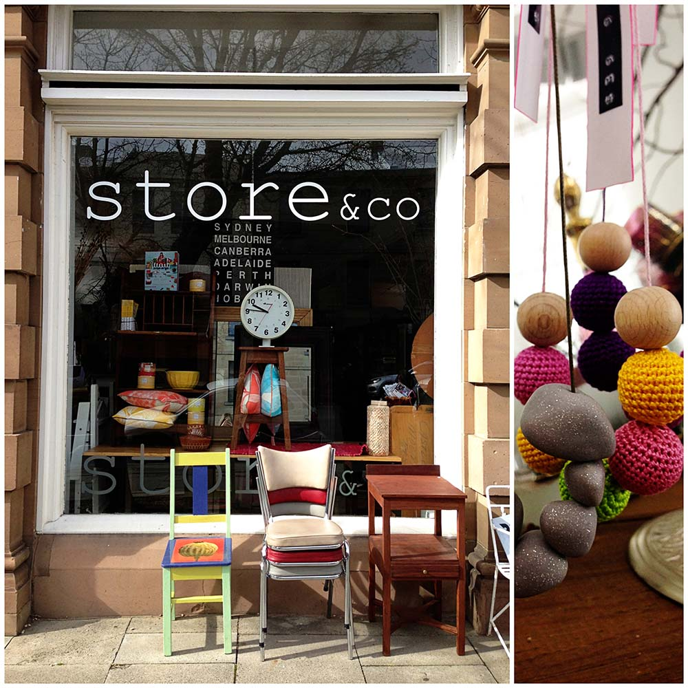 Both photos from Store & Co.