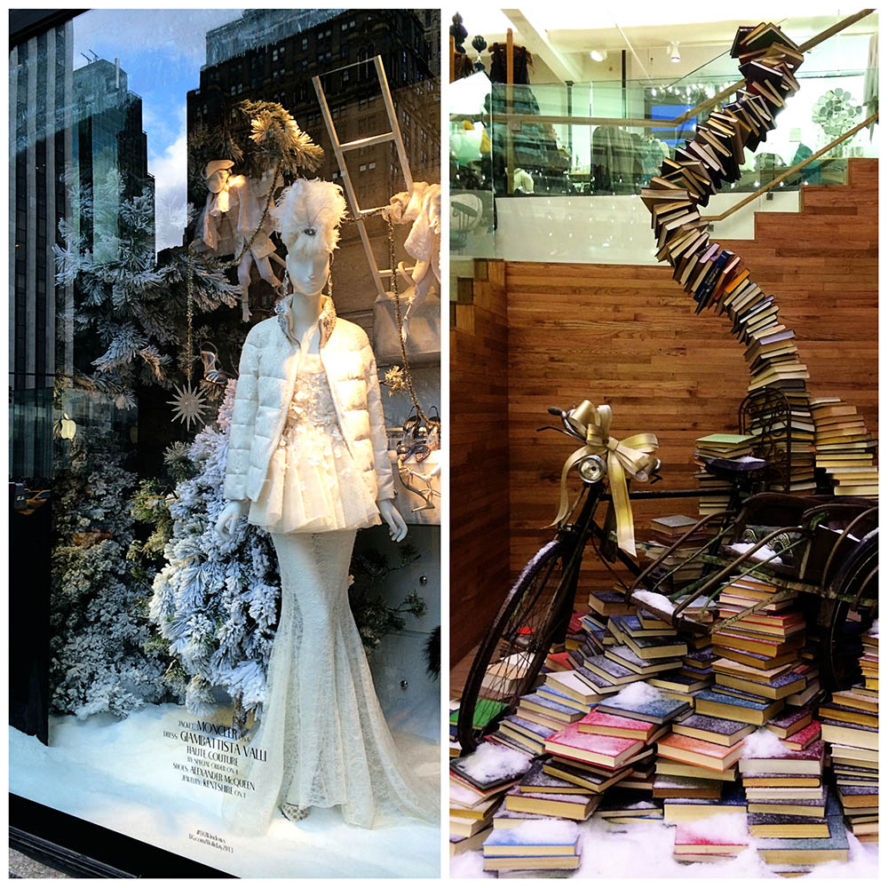 Bergdorf Goodman Holiday Window // Anthropologie