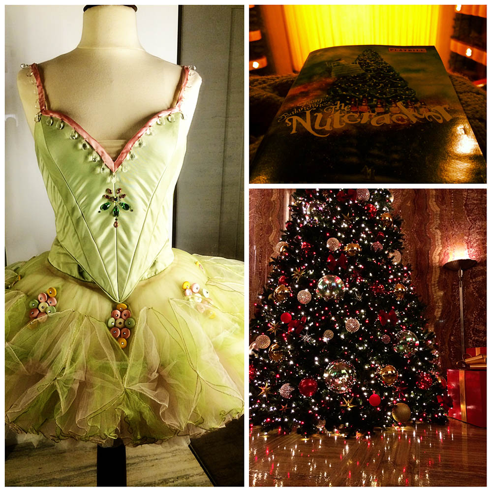 """New York City Ballet """"The Nutcracker"""" at Lincoln Centre // Tree from lobby of the Chrysler"""