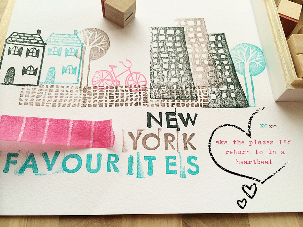 Yellow Owl Workshop City Stamps, Kikki K Letter Stamps, A Beautiful Mess Heart