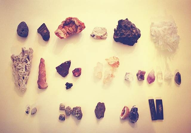 Stone, coral, crystal, ore, agate, moonstone