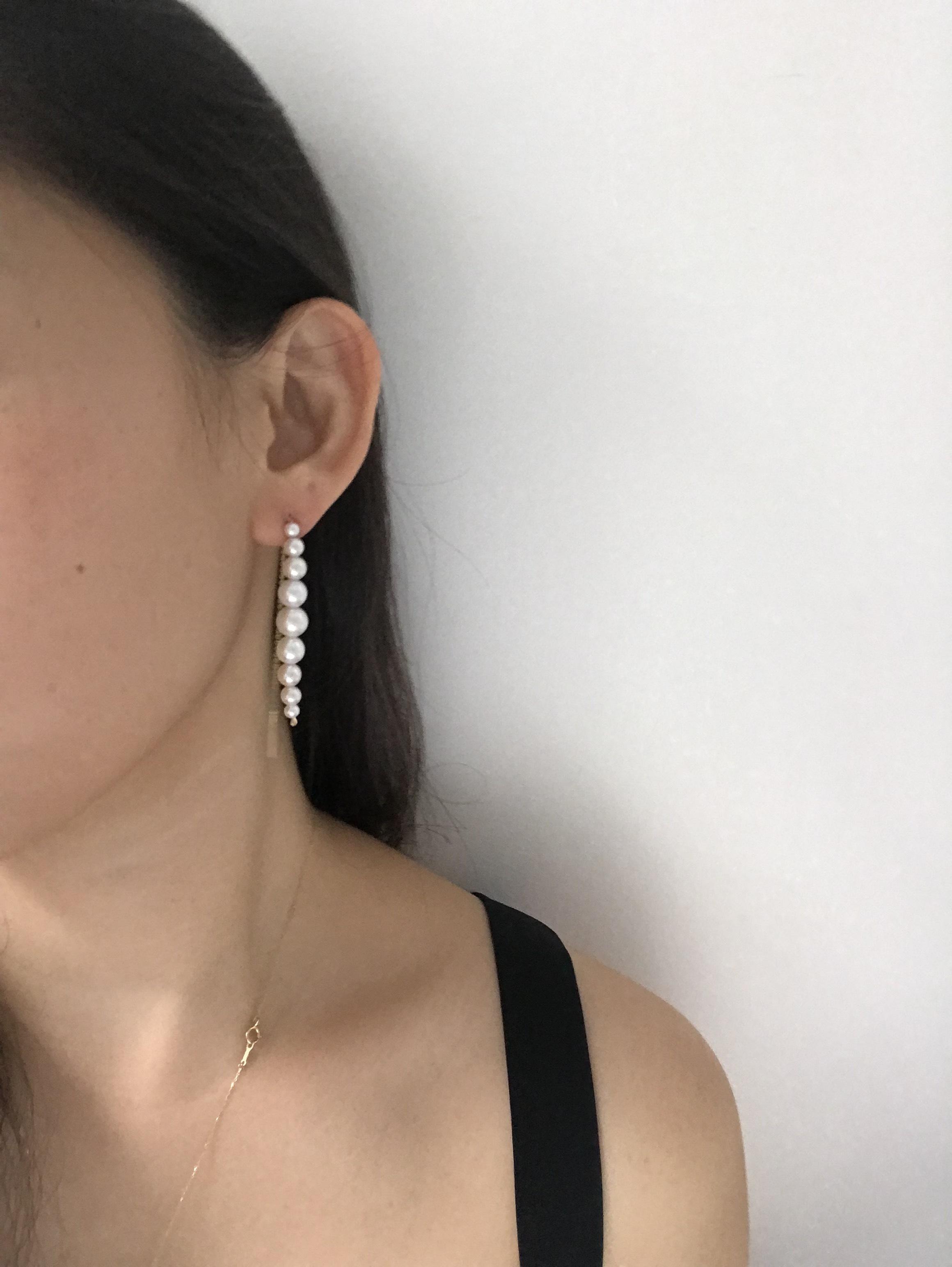 Crescendo chain Earrings