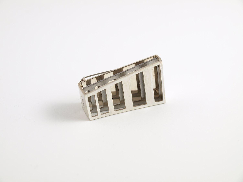 Layer brooch No.10