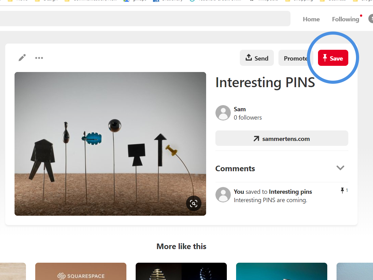 Interesting PINS on PINterest - See the the pins pinned where they belong.