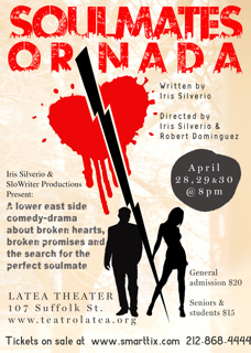 - Derek Nicoletto will be playing a lead role in Iris Silverio's original play,