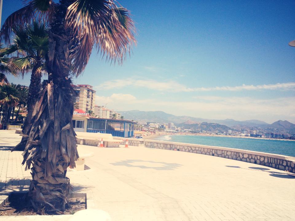 Beach oposite the hotel.