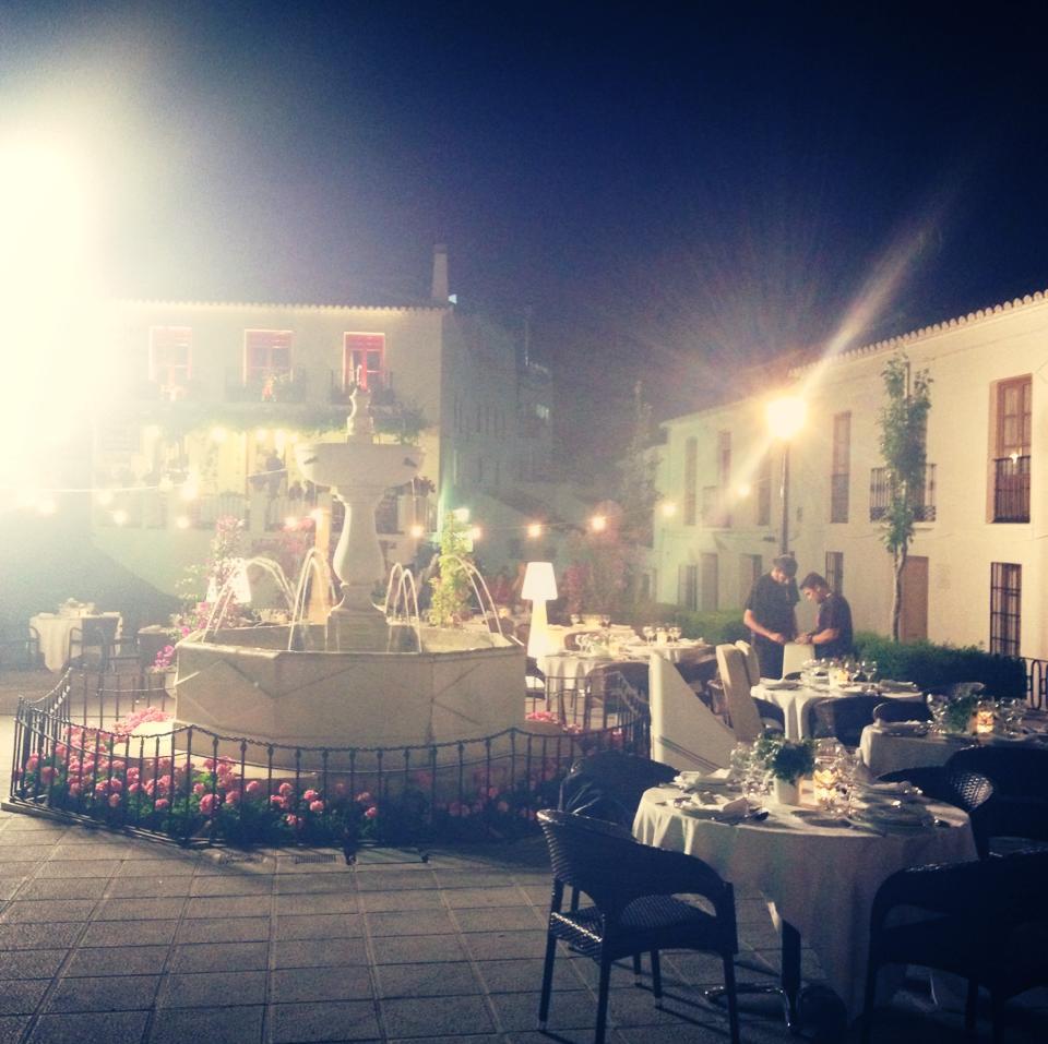 Night shoot in the Malaga mountains.