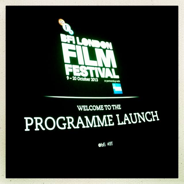 57th BFI London Film Festival Launch