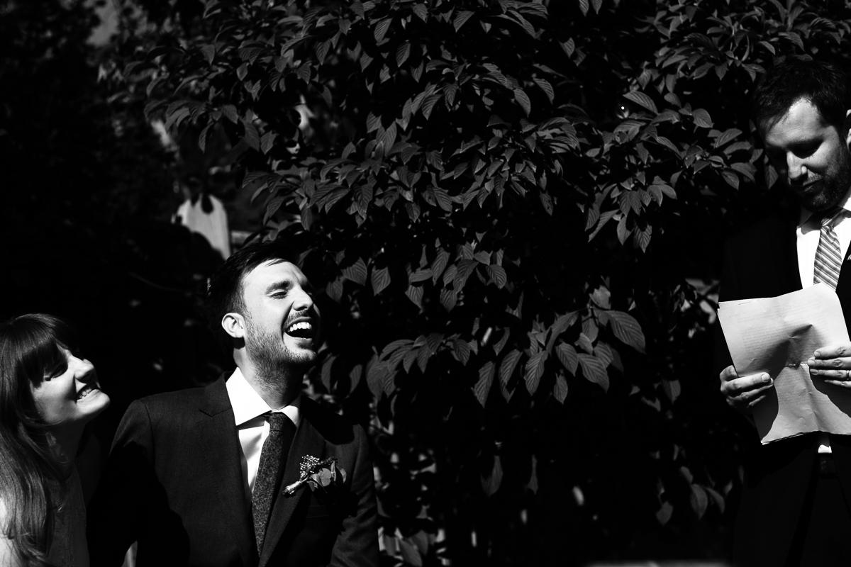 Candid wedding photography London, garden wedding