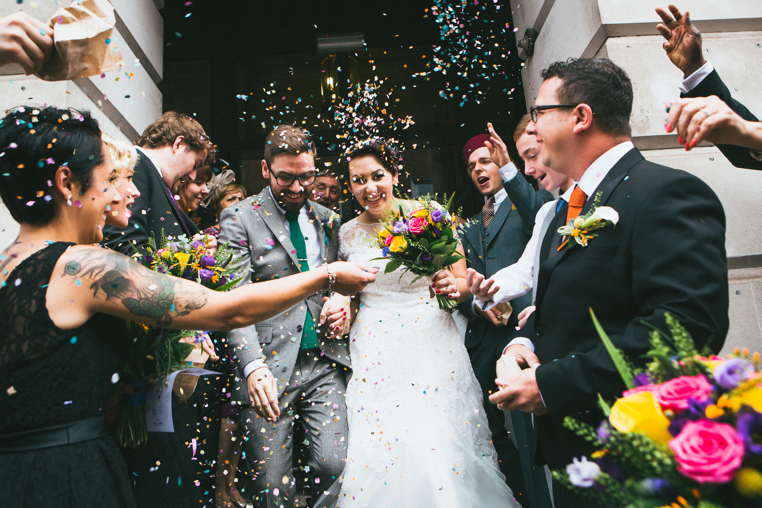 vintage wedding, Camden Town Hall, London photographer