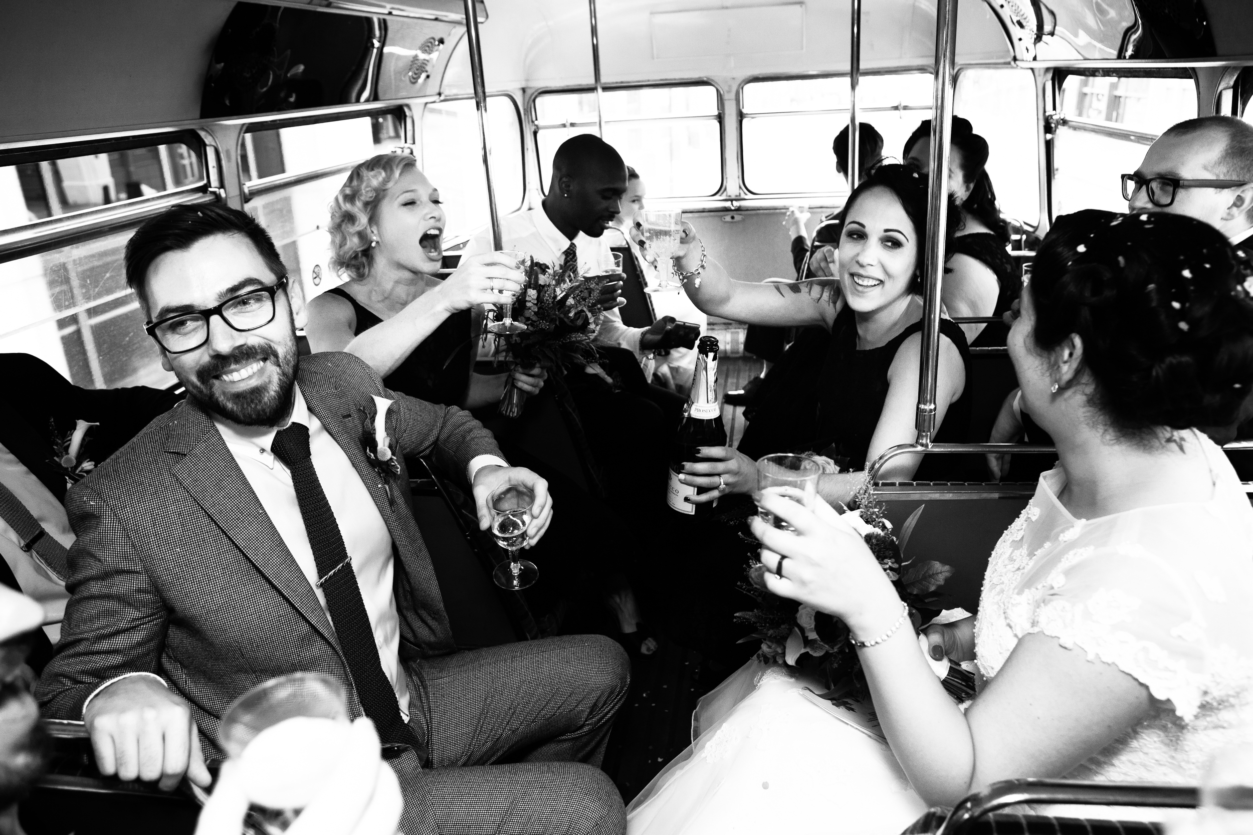 vintage wedding party, classic London wedding, London photographer