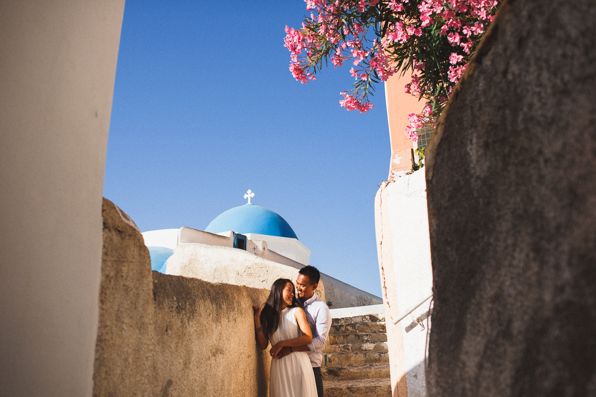 Honeymoon photoshoot, Oia, Greece, destination photographer, stunning photography