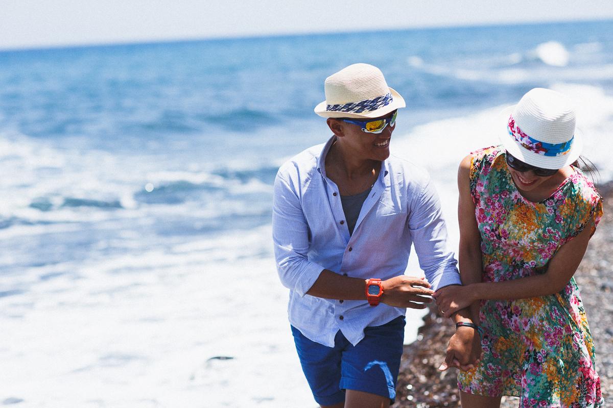 Honeymoon photoshoot, Greece, beach photoshoot, destination photographer, stunning photography