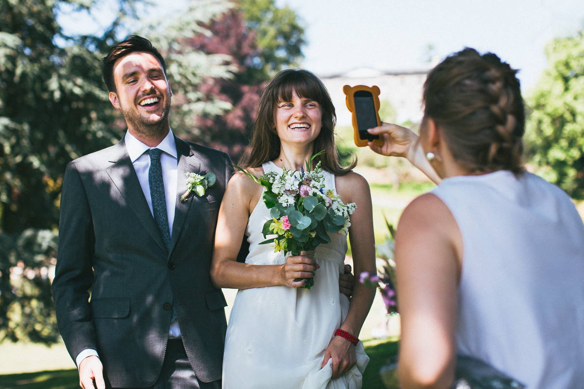 Candid wedding photography London, DIY wedding, garden wedding