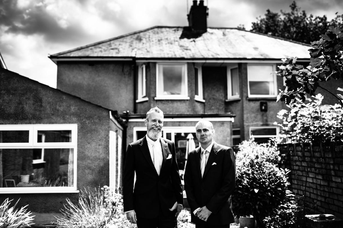 National trust wedding, groom portraits