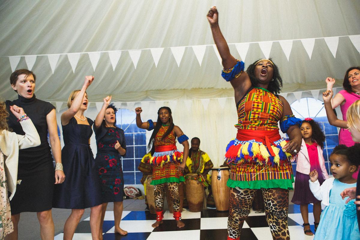 African dancers, wedding dance, fun wedding