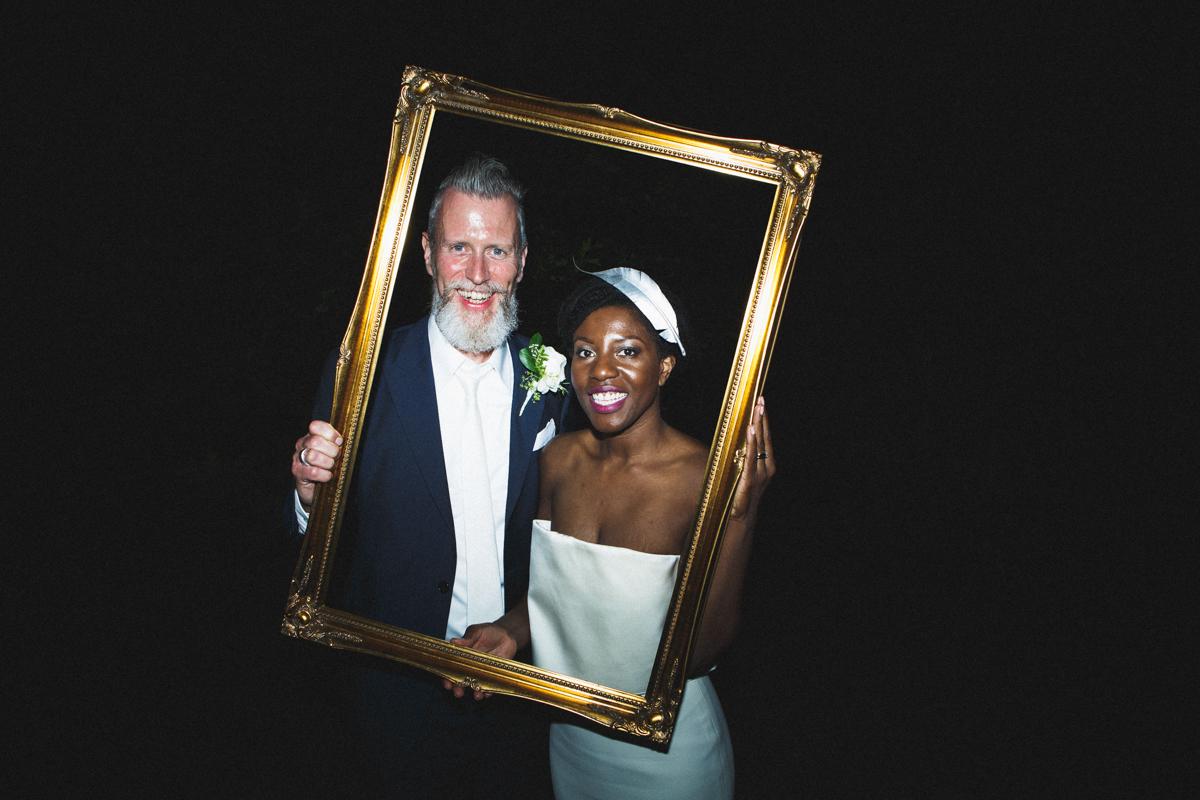 bride and groom, mature wedding, wedding day portrait