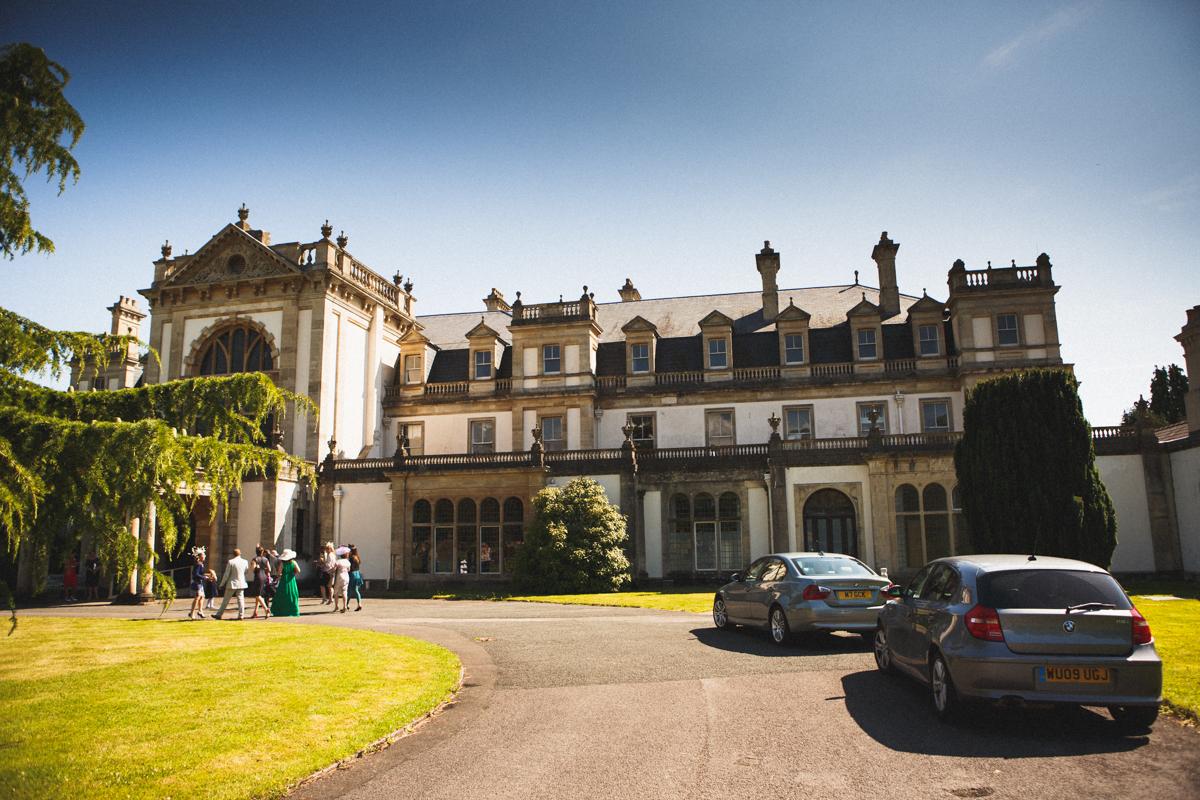 Dyffryn Gardens Wales wedding photography