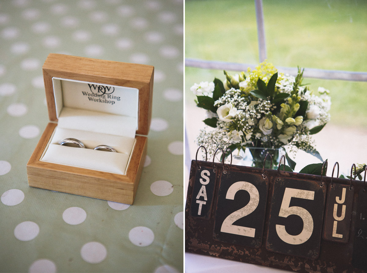 London wedding, wedding rings