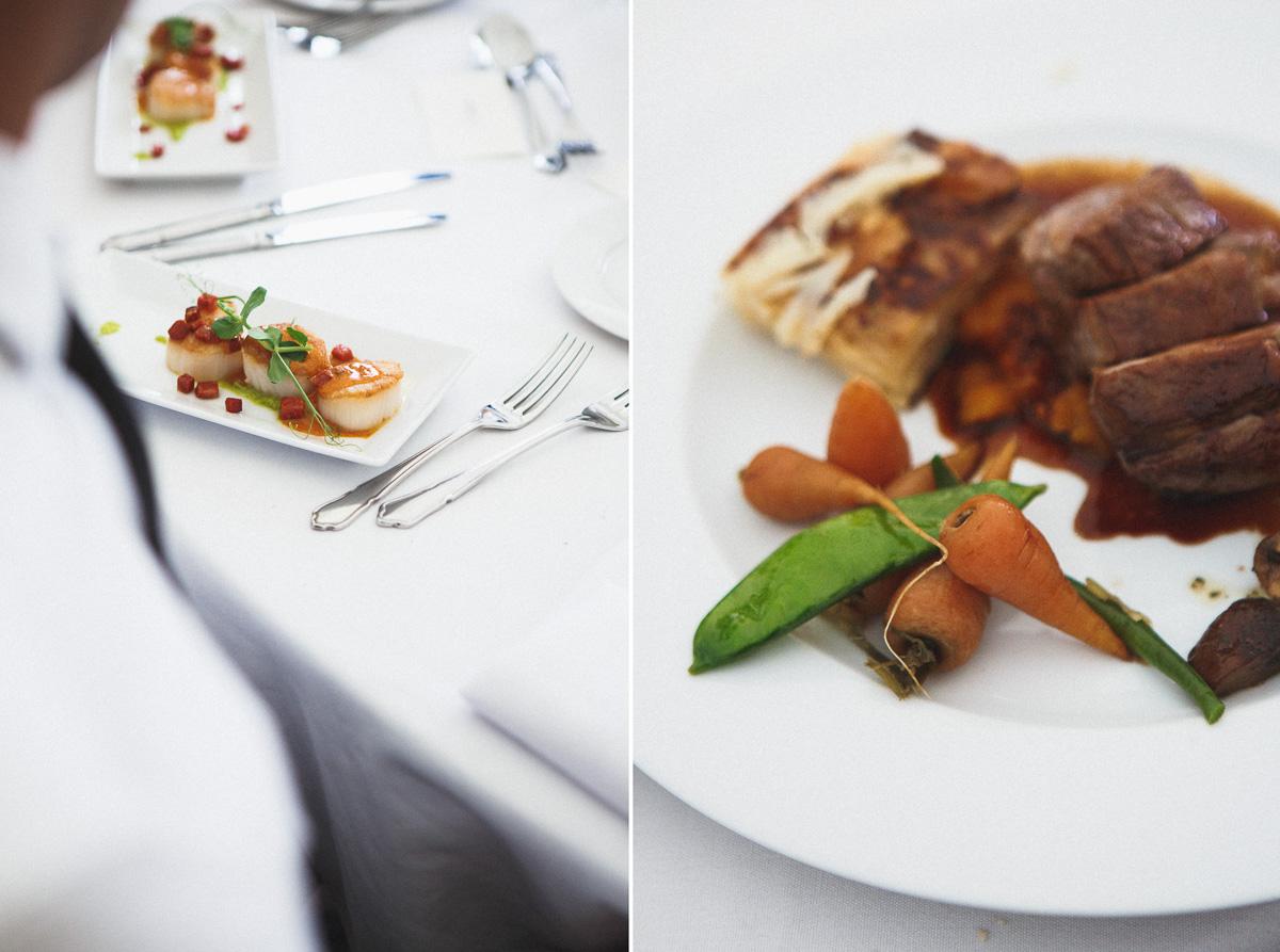 wedding food, wedding appetizers, London wedding