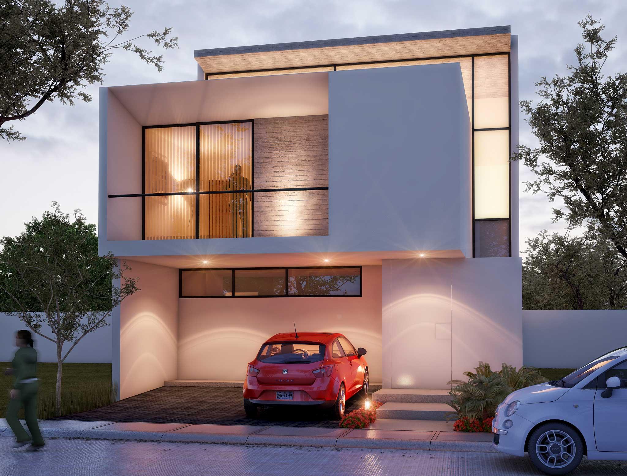 Tipo: Casa Habitación  Área de Construcción: 220 m2  Render: 3XTRUDE   Inicio de obra: Julio 2013  Ubicación: Zapopan, Jal.