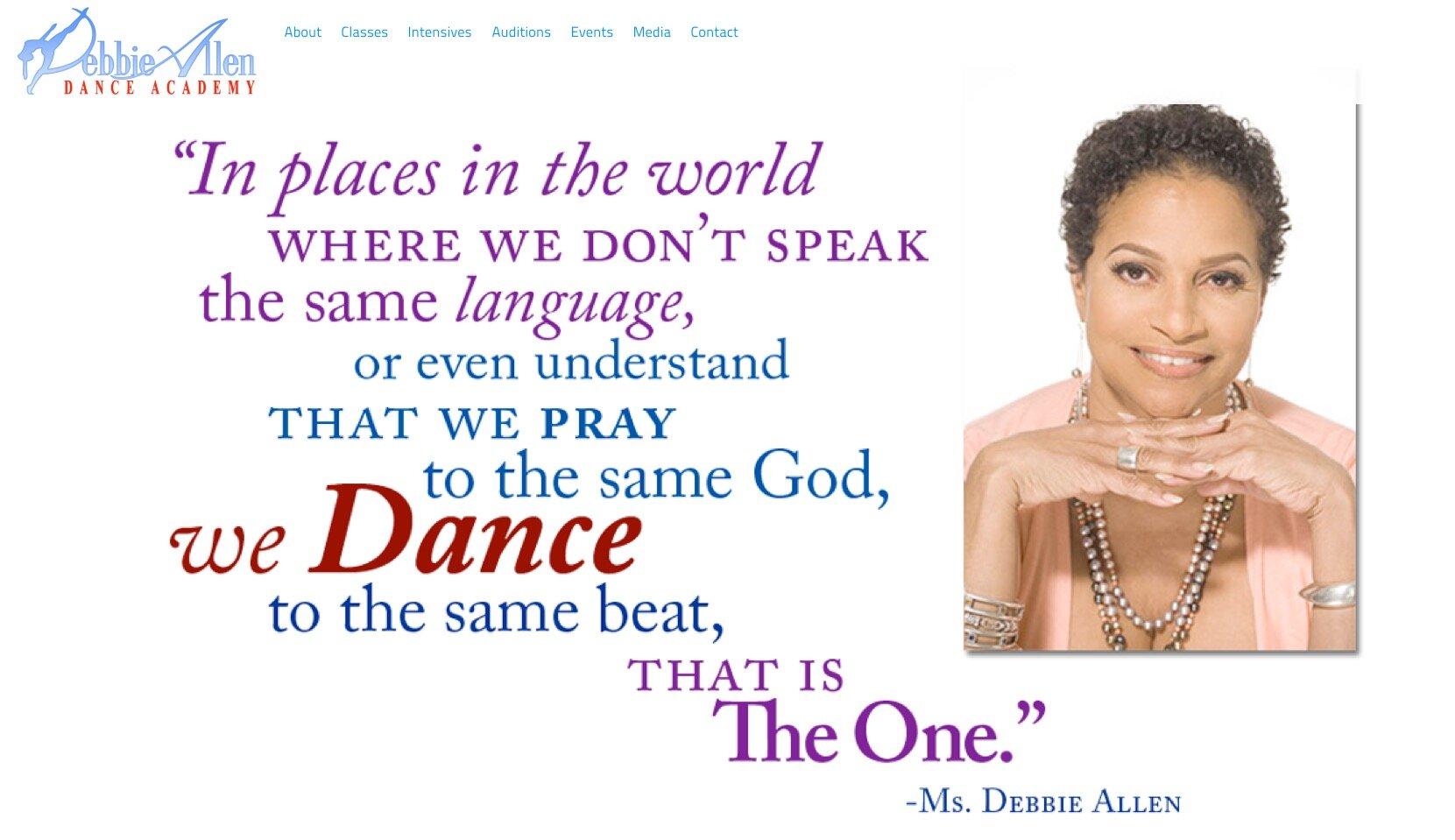 Debbie Allen Dance Academy - Debbie Allen Dance Academy Jazz Class & Tap Fest