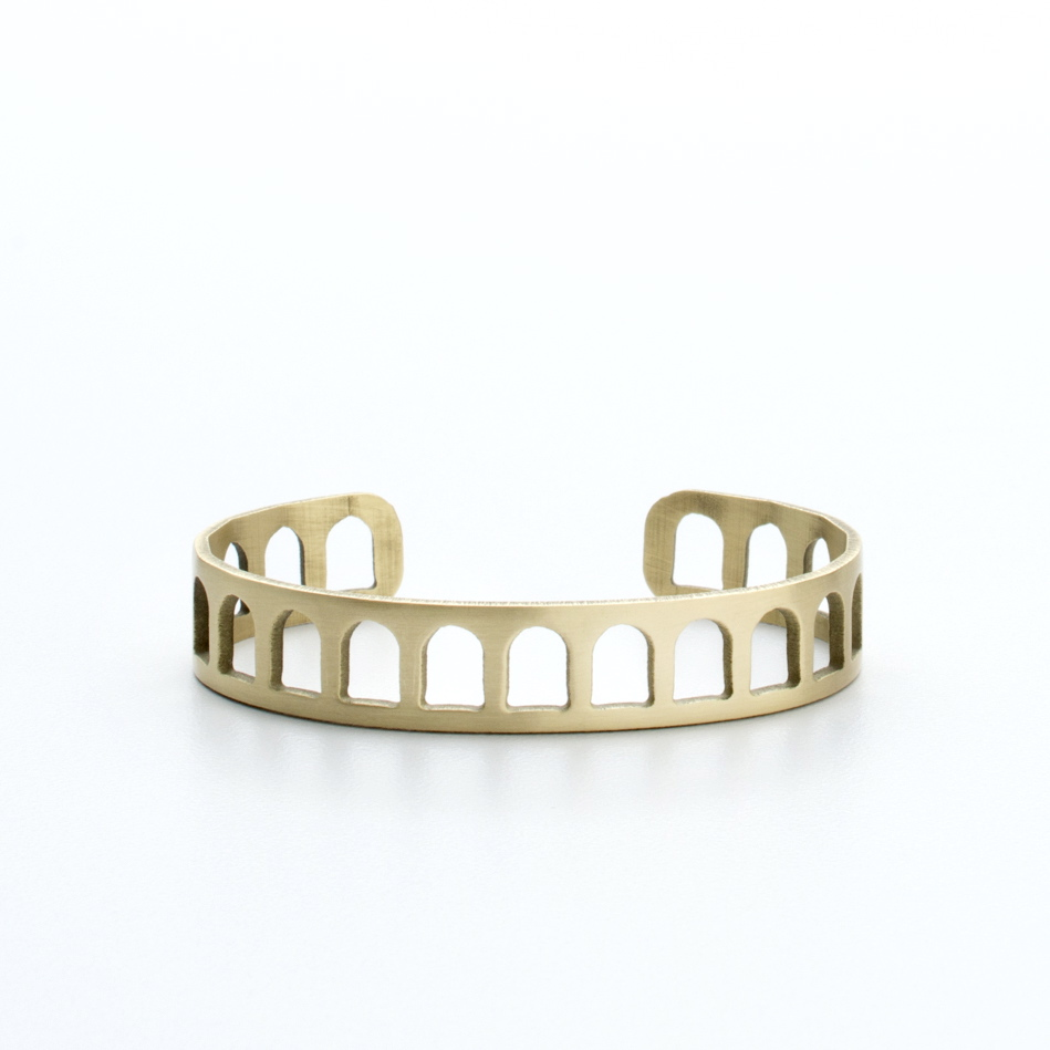 Slim Colosseum Cuff | Portland, Oregon | BluHour Jewelry