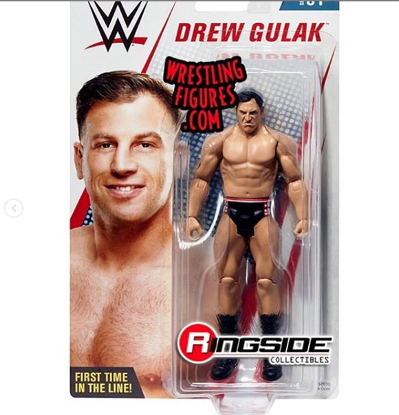 My trunks designed for 205 Live  @drewgulak  is now immortalize in a action figure gets your today at  @ringsidec action , Amazon and I believe Walmart!!