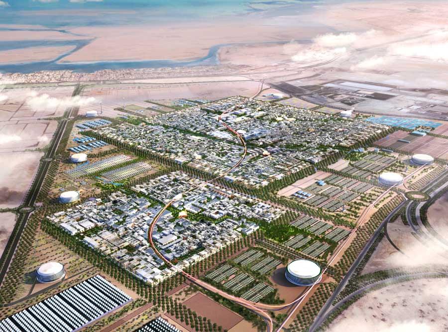 Masdar City: An Artist's Rendering