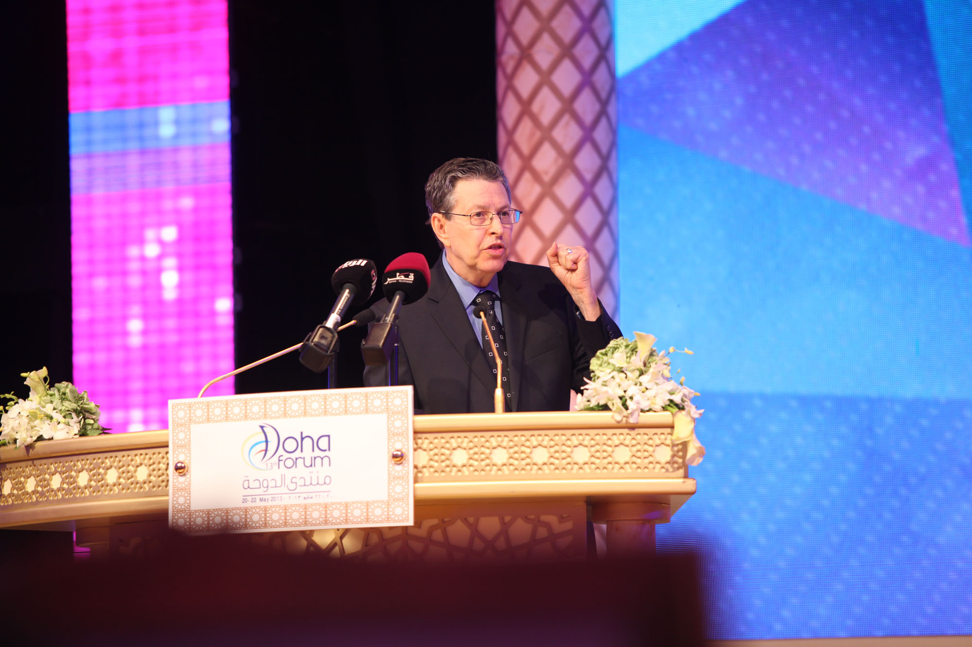 CMED director Steven L. Spiegel closes the 2013 conference.