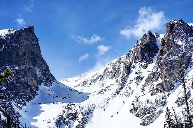 Aggressive peaks.  #coloradoviews