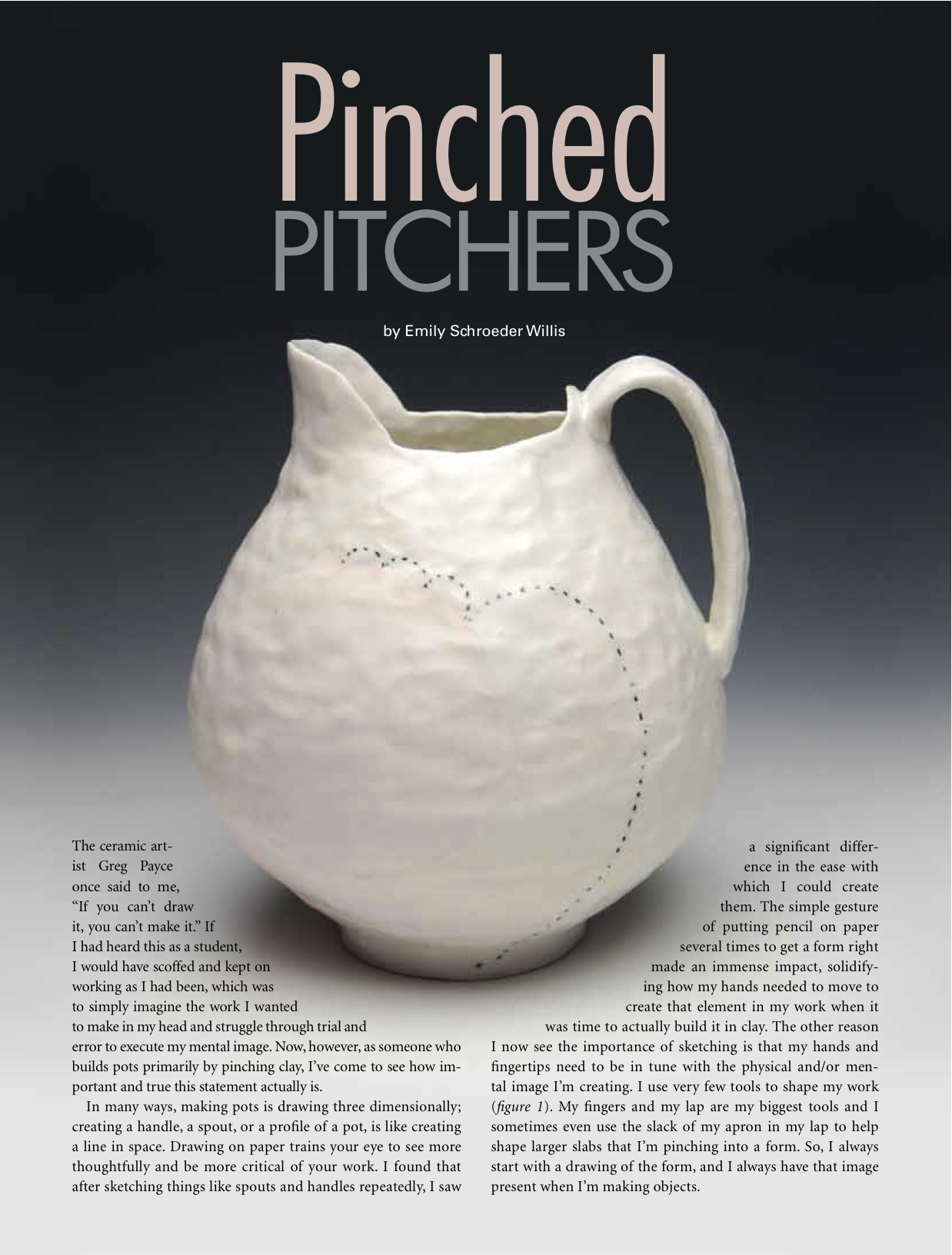 """Originally published in Pottery Making Illustrated, March/April 2013, pp. 17-21.                  Normal.dotm     0     0     1     42     240     ACAD     2     1     294     12.0                          0     false             18 pt     18 pt     0     0         false     false     false                                                     /* Style Definitions */ table.MsoNormalTable 	{mso-style-name:""Table Normal""; 	mso-tstyle-rowband-size:0; 	mso-tstyle-colband-size:0; 	mso-style-noshow:yes; 	mso-style-parent:""""; 	mso-padding-alt:0in 5.4pt 0in 5.4pt; 	mso-para-margin:0in; 	mso-para-margin-bottom:.0001pt; 	mso-pagination:widow-orphan; 	font-size:12.0pt; 	font-family:""Times New Roman""; 	mso-ascii-font-family:Cambria; 	mso-ascii-theme-font:minor-latin; 	mso-fareast-font-family:""Times New Roman""; 	mso-fareast-theme-font:minor-fareast; 	mso-hansi-font-family:Cambria; 	mso-hansi-theme-font:minor-latin;}          http://ceramicartsdaily.org/pottery-making-illustrated  Copyright, The American Ceramic Society. Reprinted with permission."""