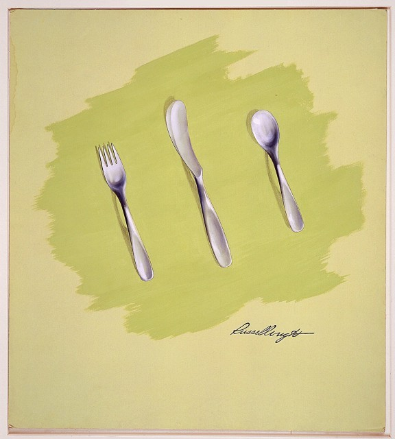 Flatware designed by Russel Wright