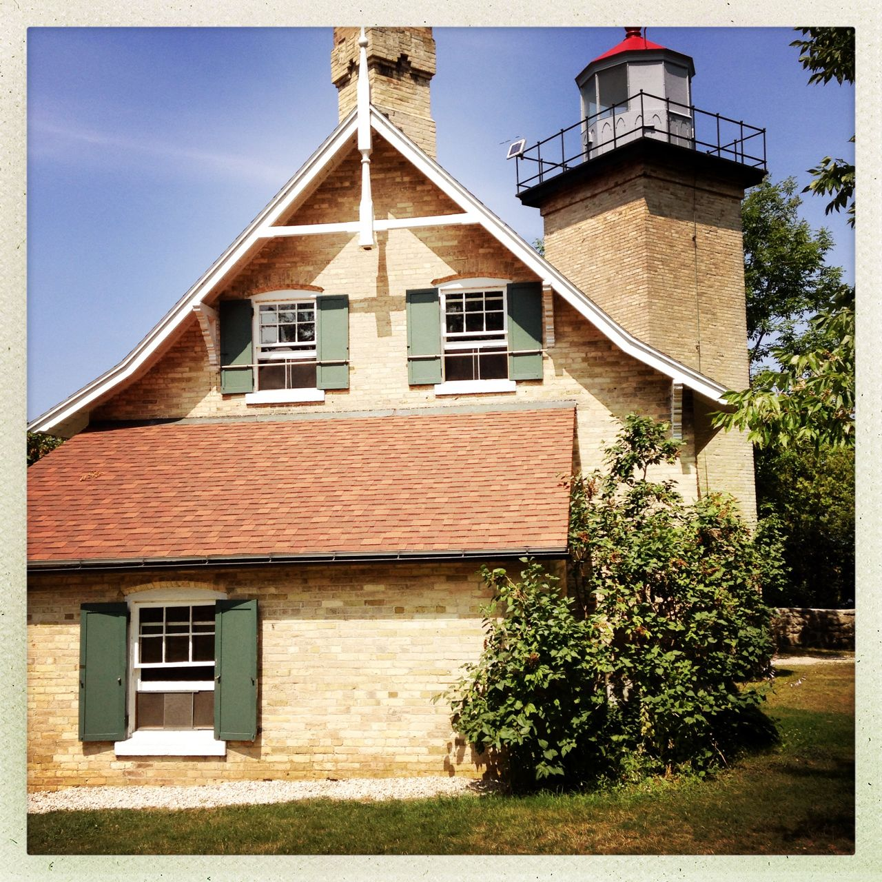 Lighthouse in Door County