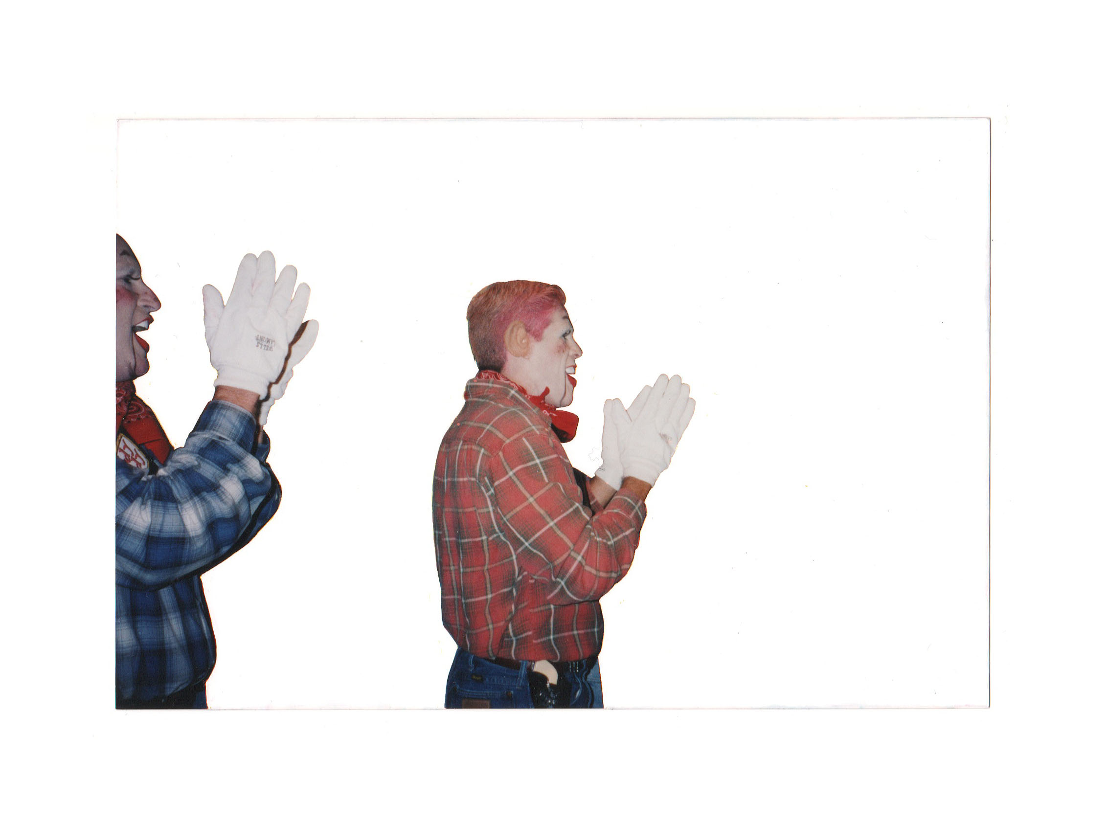 Two Men Clapping