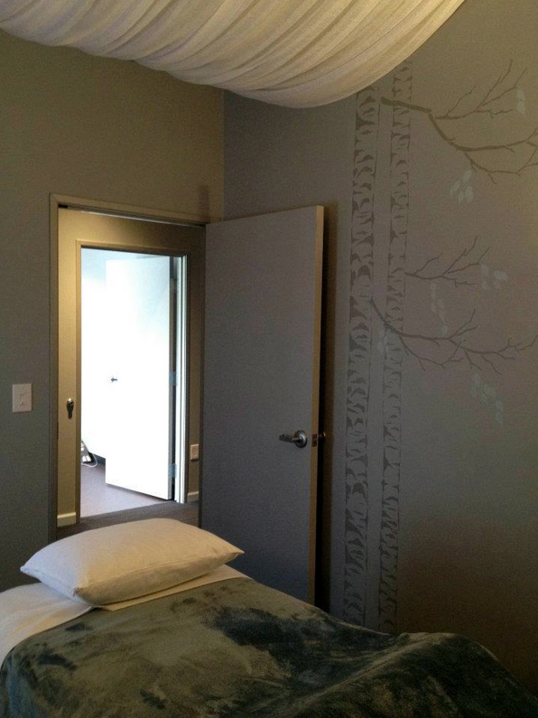 Our beautiful, private massage rooms create the perfect atmosphere for healing and relaxation.