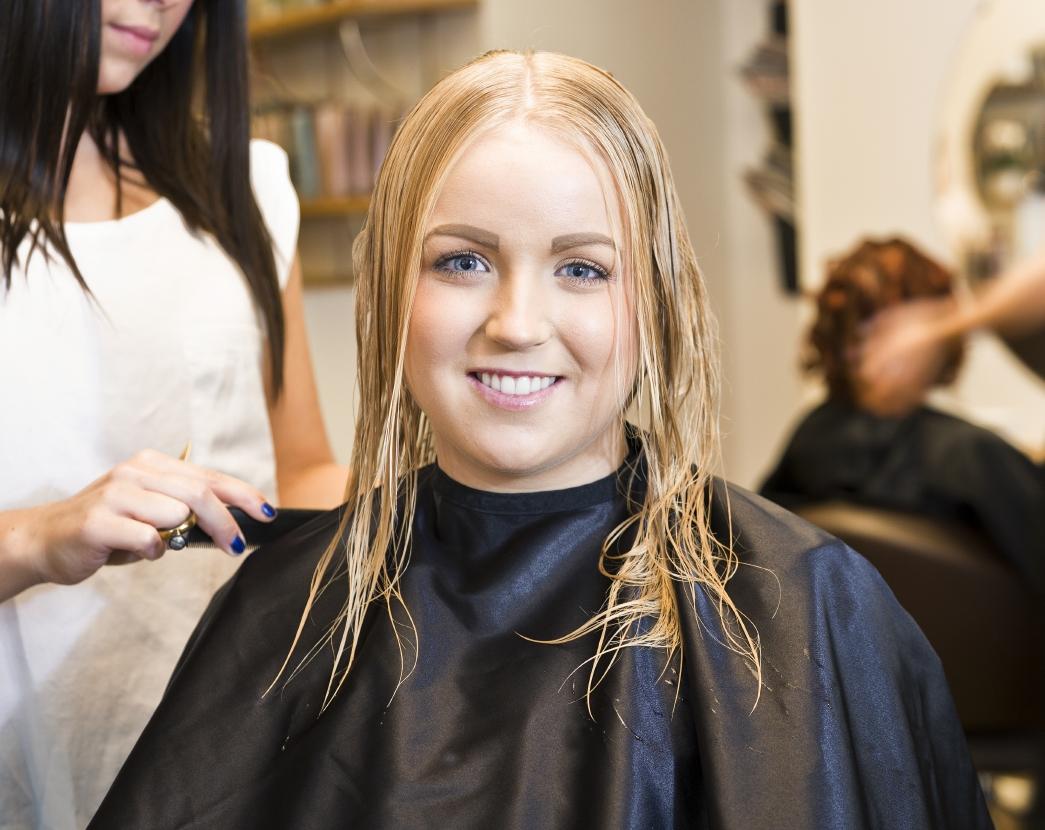 Fresh haircut, fresh start!