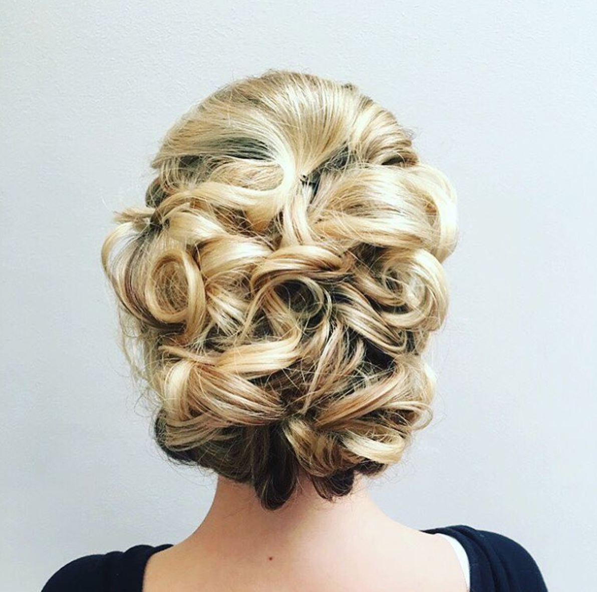 Romantic special occasion hair