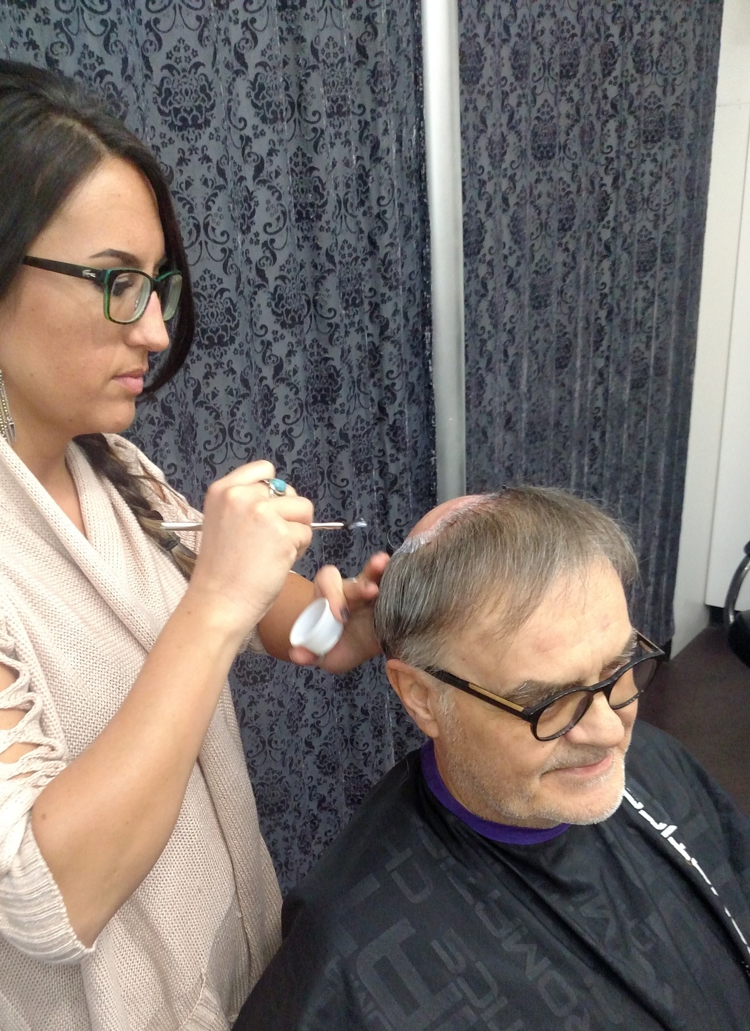 Danielle is the latest stylist to offer Hair Replacement services, a specialty at TOMORROWS.