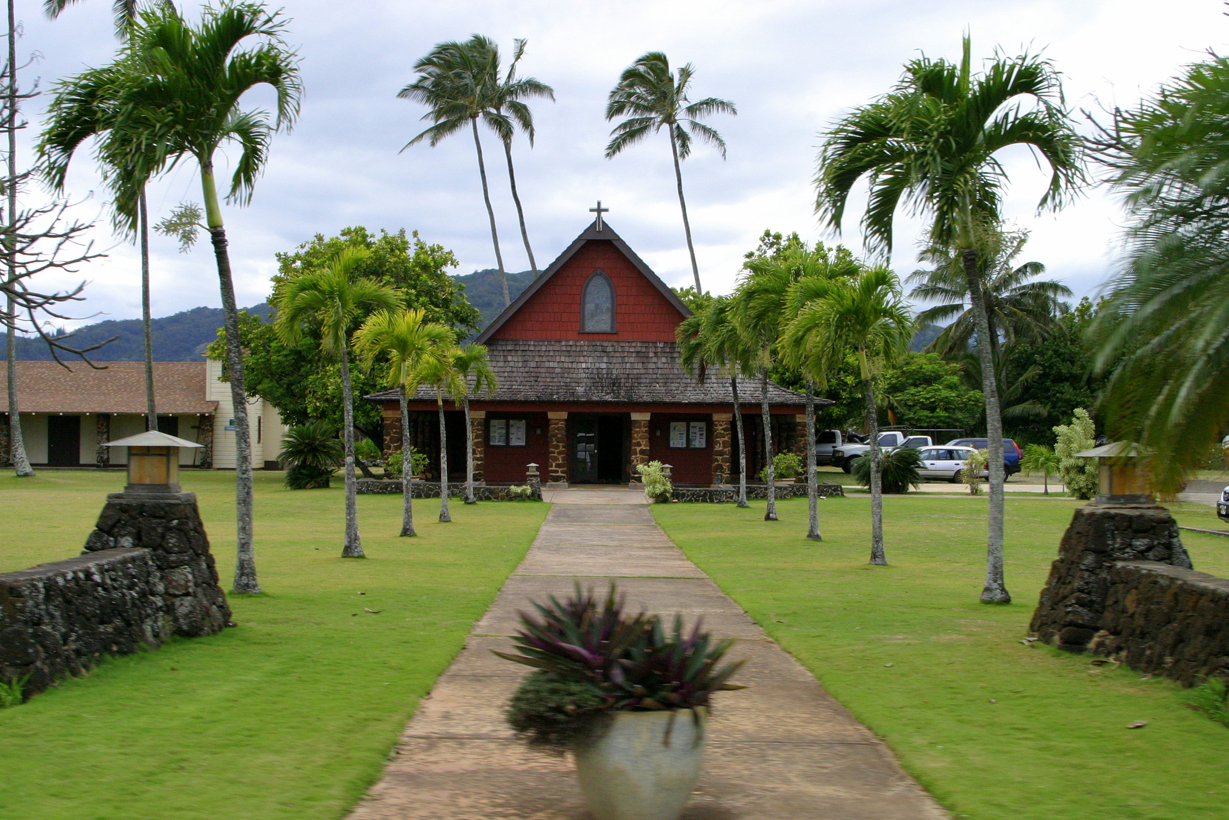 A church on Kauai