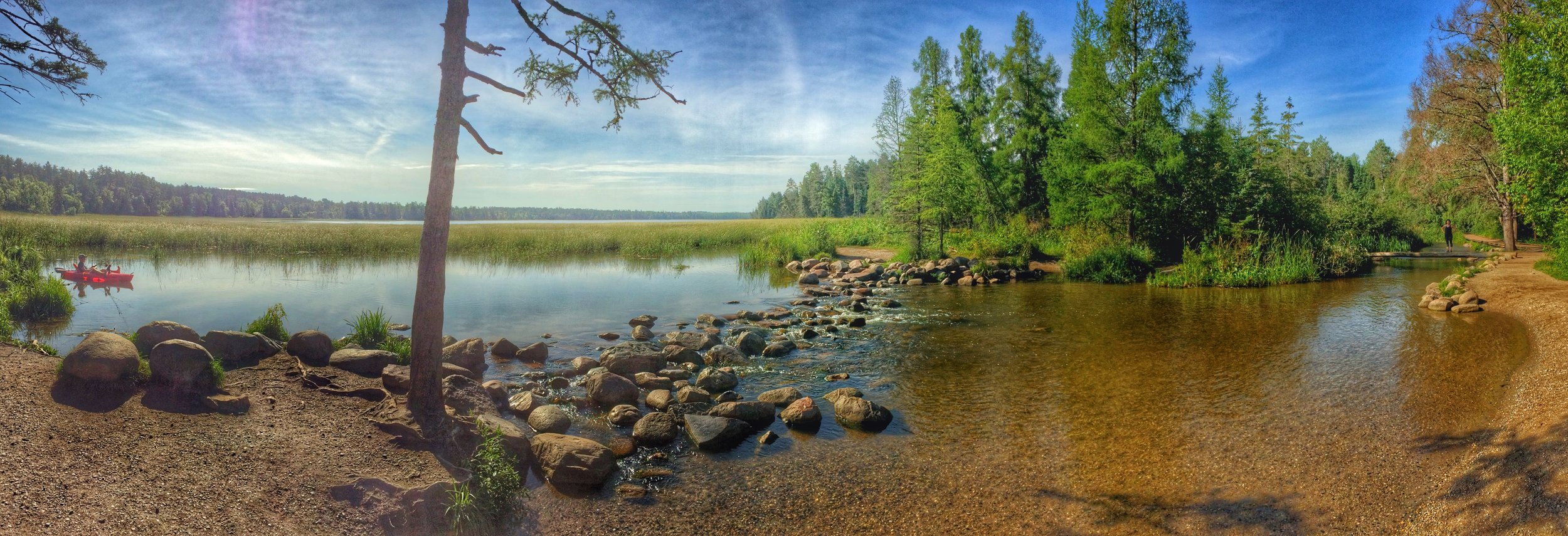 The Mississippi River Headwaters, Lake Itasca, Minnesota