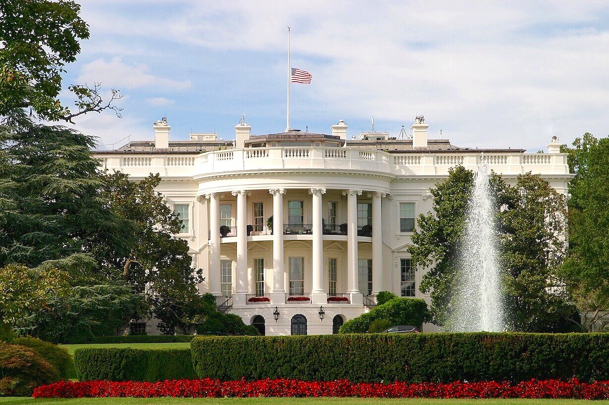 White House Flag Half Staff 9/11/16
