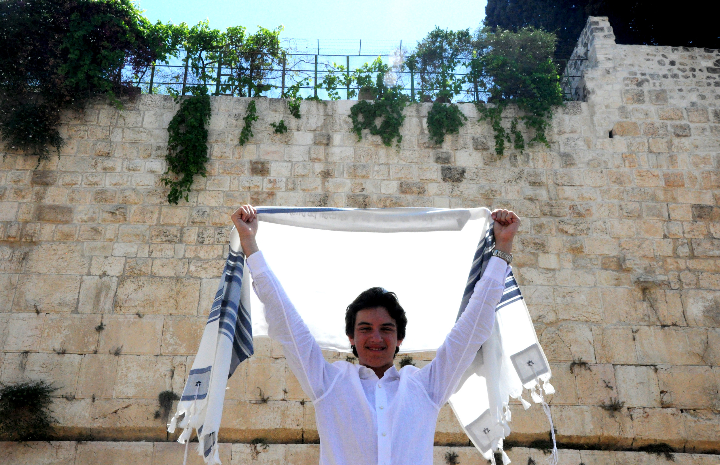 Jacob Soffer's Bar Mitzvah in Jerusalem